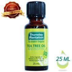 ซื้อ เธิร์สเดย์ แพลนเทชั่น ที ทรี ออยล์ ป้องกันและรักษาสิว 25 มล Thursday Plantation Tea Tree Oil 25 Ml ออนไลน์ กรุงเทพมหานคร