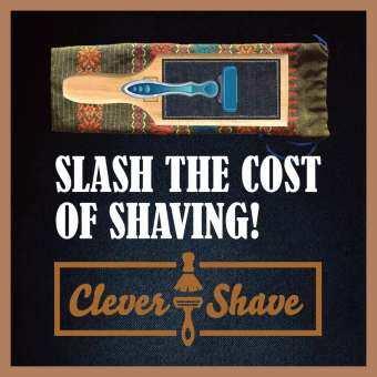 299 บาท จะโกนความลับ ที่บริษัทมีดโกนหนวดไม่ต้องการให้คุณรู้ ที่ลับคมมีดโกนหนวดโดย Clever Shave  ประหยัดเงินด้วย Get Stroppy Artisan อุปกรณ์กำจัดขน ขนแขน, ขา, ขนบนร่างกาย, ใบหน้า, รักแร้ และในสถานที่ลับ