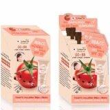 ราคา 2X Smooto Tomato Collagen Bb Cc Cream สมูทโตะ โทมาโท่ คอลลาเจน บีบี แอนด์ ซีซี ครีม 10 กรัม X 6 ซอง เป็นต้นฉบับ Smooto