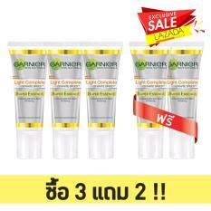 ซื้อ การ์นิเย่ ซื้อ 3 แถม 2 ไลท์ คอมพลีท ซุปเปอร์ เอสเซนส์ Garnier Buy 3 Get 2 Free Light Complete Essence 10Ml 5 Pieces ถูก Thailand