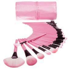 ซื้อ ชุดแปรงแต่งหน้า 32 ชิ้น ขนสังเคราะห์นิ่มพิเศษ Pink ถูก ใน กรุงเทพมหานคร