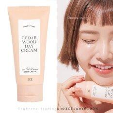 ซื้อ 3Ce Cedar Wood Day Cream Spf50 Pa 70G ครีมบำรุงพร้อมกันแดดใน1เดียว 3Ce ออนไลน์