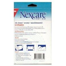 3m Nexcare Tegaderm แผ่นเทปใสปิดแผลกันน้ำ ขนาด 10ซม. X 12ซม. 5แผ่น/กล่อง 1 กล่อง By Rich And Goodhealthy.