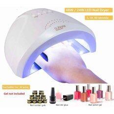 ราคา 48W Uv Lamp With 5S 30S 60S Timer White Light For Nail Polish Nail Gel Nail Art Tools Intl Unbranded Generic เป็นต้นฉบับ