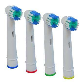 4pcs SB-17A Model Electric Toothbrush Replacement Brush Heads Cleaning Tool for Braun Oral-