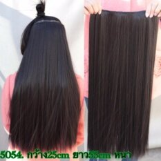 ราคา วิกแฮร์พีช สีน้ำตาลธรรมชาติ รหัสสินค้า5054 4 Cala Wigs เส้นไหมทนความร้อนสูงจากเกาหลีอย่างดี100