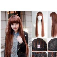 โปรโมชั่น วิกผมยาว 6275Cala Wigs เส้นไหมทนความร้อนสูงจากเกาหลีอย่างดี100 ถูก