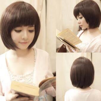 วิกผมสั้น 6367 cala wigs เส้นไหมทนความร้อนสูงจากเกาหลีอย่างดี100%