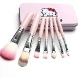 ราคา 7 Installed Hello Kitty Makeup Brush Set ออนไลน์