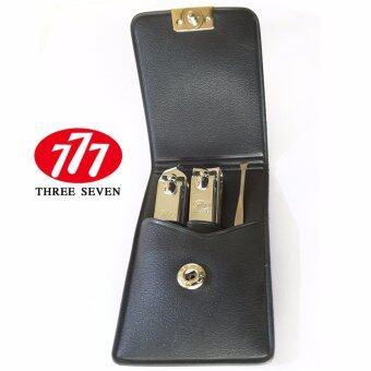 777(Three Seven)ชุดแต่งเล็บ 3 ชิ้น(TS-78C)ซองแดงเลือดหมู(นำเข้าจากเกาหลี)
