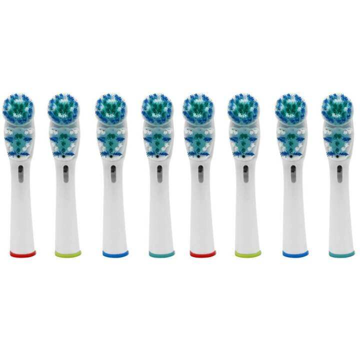... Braun Oral-B – intl. 8Pcs SB-417A Model Double-head Electric Toothbrush Replacement Brush Heads Cleaning Tool for