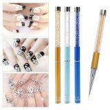 ราคา A Set 3Pcs Different Sizes 3D Nail Art Pen Diy Painting Dotting Pen Pencil Intl ที่สุด