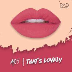 ส่วนลด A05 That S Loverly Rad Matte Liquid Lipstick Rad Cosmetics