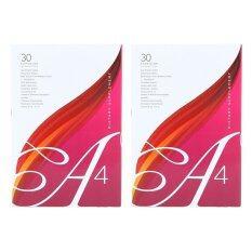 ราคา A4 อาหารเสริมเพื่อสุขภาพสำหรับผู้หญิง 2 ซอง ที่สุด