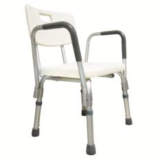 ราคา Acare เก้าอี้อาบน้ำอลูมิเนียม มีพนักพิงและที่วางแขน Acare เป็นต้นฉบับ
