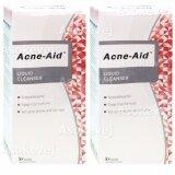 ขาย Acne Aid Liquid Cleanser 100Ml 2ขวด แอคเน่ เอด ลิควิด คลีนเซอร์ Acne Aid เป็นต้นฉบับ