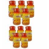 ขาย Acorbic Vitamin C 1000Mg ผลิตภัณฑ์เสริมอาหาร วิตามิน ซี 1000 มก บรรจุกระปุกละ 30 เม็ด 10 กระปุก Acorbic