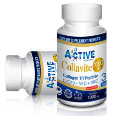 ส่วนลด Active Collavite 1000 Collagen Tri Peptide By New Way Moriarty House 1 กระปุก