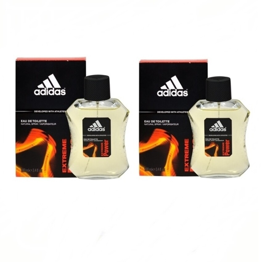 Adidas Extreme Power Adidas for men EDT 100 ml แพ็คคู่