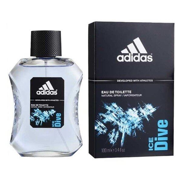 Adidas Ice Dive Adidas for men EDT 100 ml พร้อมกล่อง