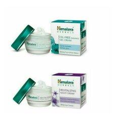 ส่วนลด แพคคู่ Himalaya Oil Free Radiance Gel Cream Himalaya Revitalizing Night Cream 50 G Himalaya