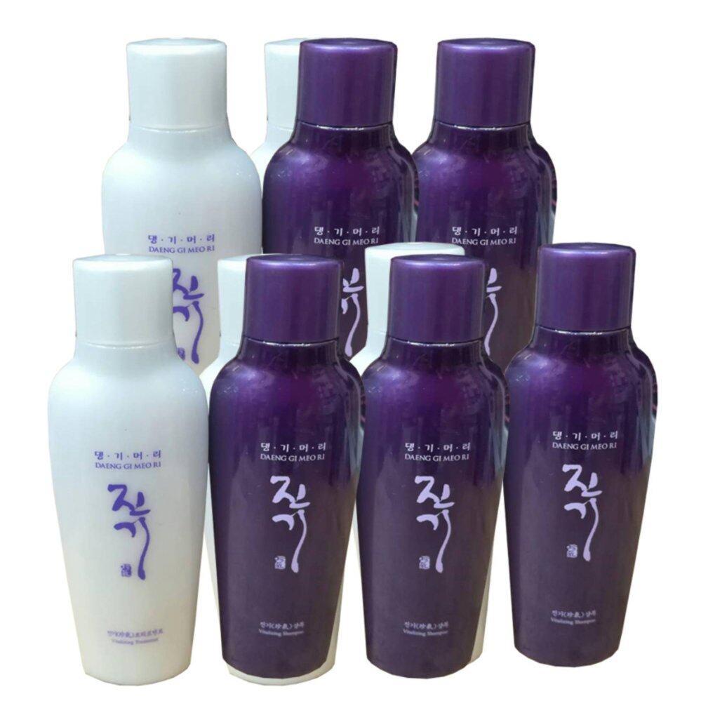 ราคาดีที่สุด แพ็คคู่Daeng Gi Meo Ri Vitalizing Shampoo 70ml + Treatment 70ml