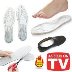 ขาย แผ่นรองเท้าสุขภาพ แพ็ค 2 คู่ ลดอาการปวดเมื่อยเท้า แผ่นรองเท้ากันกระแทก Memory Foam อุปกรณ์เสริมรองเท้า ผู้ค้าส่ง