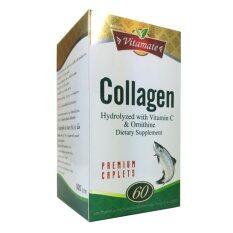 ราคา ไวตาเมท คอลลาเจน Collagen Vitamate 60 Caplets X 1 Bottle ออนไลน์ กรุงเทพมหานคร