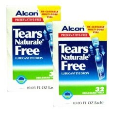 ส่วนลด Alcon Eye Drops น้ำตาเทียม Tears Naturale Free Lubricant Eye Drops 3 Ml X 2 กล่อง กรุงเทพมหานคร
