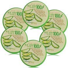 ซื้อ Aloe Vera Nature Perfect Soothing 100 50 Ml สุดยอดเจลว่านหางจระเข้ 6 กระปุก Aloe Vera ถูก