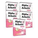 ราคา Alpha Arbutin 3 Plus ผงเผือก สูตรใหม่ เพิ่มอัลฟ่า อาร์บูติน 3 เท่า 5 กล่องX 10 แคปซูล