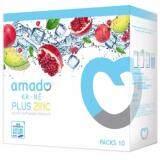 ราคา Amado Ka Ne Plus Zinc อมาโด้กาเน่ กลูต้าเม็ดฟู่ผสมน้ำ 1 กล่อง เป็นต้นฉบับ