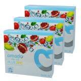 ราคา Amado Kane Glutathione อมาโด้ กาเน่ กลูต้าไธโอน เม็ดฟู่ เพื่อผิวขาว ขนาดบรรจุ กล่องละ 10 เม็ด 3 กล่อง Amado เป็นต้นฉบับ