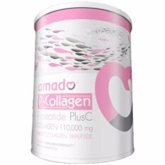 ขาย Amado P Collagen Tripeptide Plus C 100 000 Mg อมาโด้ คอลลาเจน สูตรใหม่ ขาวไวกว่าเดิม 100 000Mg 100G X 1 กระป๋อง ใหม่