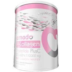 ทบทวน Amado P Collagen Tripeptide Plus C 100 6 G อมาโด้ พี คอลลาเจน ไตรเปปไทด์ พลัส ซี Amado