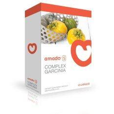โปรโมชั่น Amado S อาหารเสริมลดน้ำหนัก อมาโด้เอส กล่องส้ม 10แคปซูล กรุงเทพมหานคร