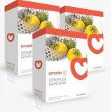 Amado S Complex Garcinia อมาโด้ เอส อาหารเสริมควบคุมน้ำหนัก กล่องส้ม รุ่นใหม่ 10 แคปซูล 3 กล่อง เป็นต้นฉบับ