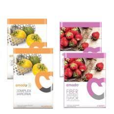 ส่วนลด Amado S Garcinia 2 กล่องส้ม Amado Fiber Plus 2 กล่องม่วง ผอมเร่งด่วน อมาโด้ เอส การ์ซิเนียลดน้ำหนัก จัดคู่กับ อมาโด้ ไฟเบอร์ ดีท๊อกซ์ ขับของเสียออกจากร่างกาย อย่างละ 2 กล่อง Amado