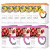 ขาย Amado S Garcinia อมาโด้ เอส อาหารเสริมควบคุมน้ำหนัก กล่องส้ม 6 กล่อง กล่องละ 10 แคปซูล Amado Fiber Plus อมาโด้ไฟเบอร์ พลัส ดีท็อกซ์ลำไส้ กล่องม่วง 3 กล่อง กล่องละ 5 ซอง ออนไลน์ ใน กรุงเทพมหานคร