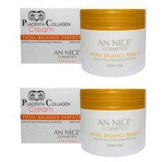 ขาย ครีมรกแกะ An Nice Placenta Collagen Cream Total Balance Perfect ขนาด 100 Ml จำนวน 2 กระปุก กรุงเทพมหานคร ถูก