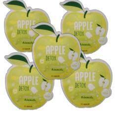 ราคา Apple Detox นวัตกรรมใหม่ เอ็นไซม์แอปเปิ้ล ดีท๊อก และล้างสารพิษ 5 ซอง 1ซอง 10 แคปซูล เป็นต้นฉบับ Detox