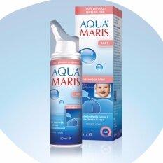 Aqua Maris Baby Natural Nasal Spray 50ml สเปรย์พ่นจมูก สำหรับเด็กอ่อน By Skincare Shop.