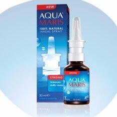 ซื้อ Aqua Maris Strong Natural Nasal Spray 30Ml สเปรย์พ่นจมูก ลดอาการคัดแน่นจมูก ถูก ไทย