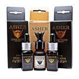 Asher ผลิตภัณฑ์ปลูกผม หนวด คิ้ว ขนตาเครา สูตรพรีเมี่ยม 2 ขวด สูตรออริจินัล 1 ขวด Asher ถูก ใน กรุงเทพมหานคร