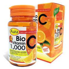 ซื้อ Aura Bio Vitamin C 1 000 Mg หน้าใส สุขภาพดี มีออร่า ออนไลน์