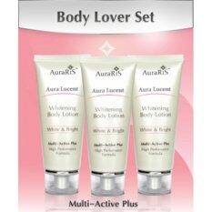 ขาย ซื้อ Auraris Body Lover Set Aura Lucent Whitening Body Lotion 90 Ml Brightening Lightening Fairness Lotion No Acne Freckle Or Spot 3 Pcs