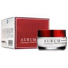 ราคา Aurum Ginseng Collagen Cream 50 G ครีมโสมและคอลลาเจน ฟื้นฟูผิวและช่วยให้ผิวหน้าดูอ่อนกว่าวัย เป็นต้นฉบับ