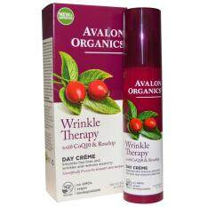 ขาย Avalon Organics Wrinkle Therapy Day Cream 1 75 Oz 50 G ใหม่