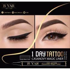 ราคา เมจิกอายไลน์เนอร์ B Yar 1 Day Tattoo Casanovy Magic Liner ใหม่ ถูก