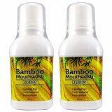 ราคา Bamboo Mouthwash Plus น้ำยาบ้วนปาก แบมบูเม้าท์วอช พลัส หมดปัญหากลิ่นปาก คราบพลัค หินปูน 300 Ml X 2 ขวด ออนไลน์